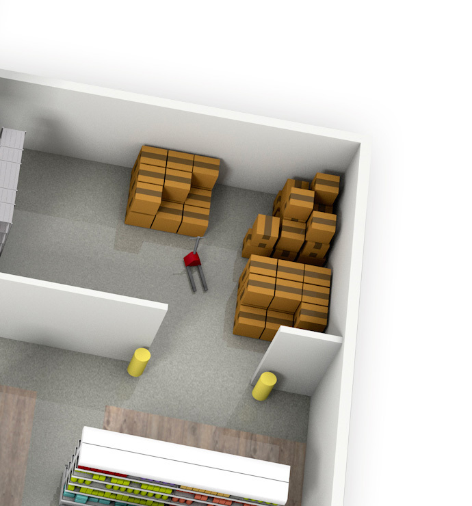 Backstore - warehouse