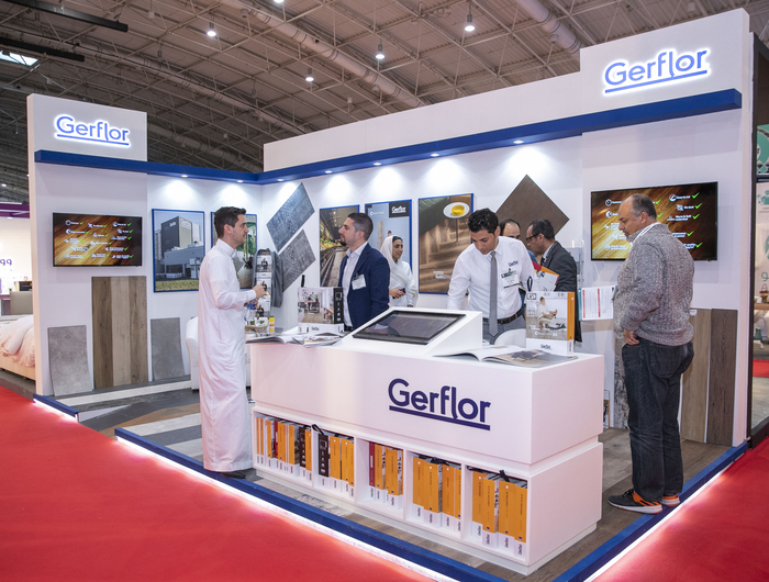 Gerflor news middle east exhibitions 2020 index saudi  1